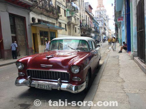 キューバの路地