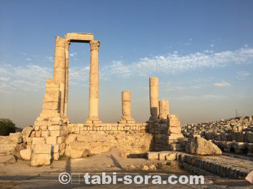 ヘラクレス神殿跡