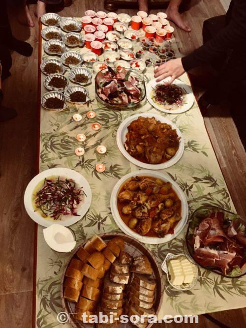 パリのクリスマスディナー