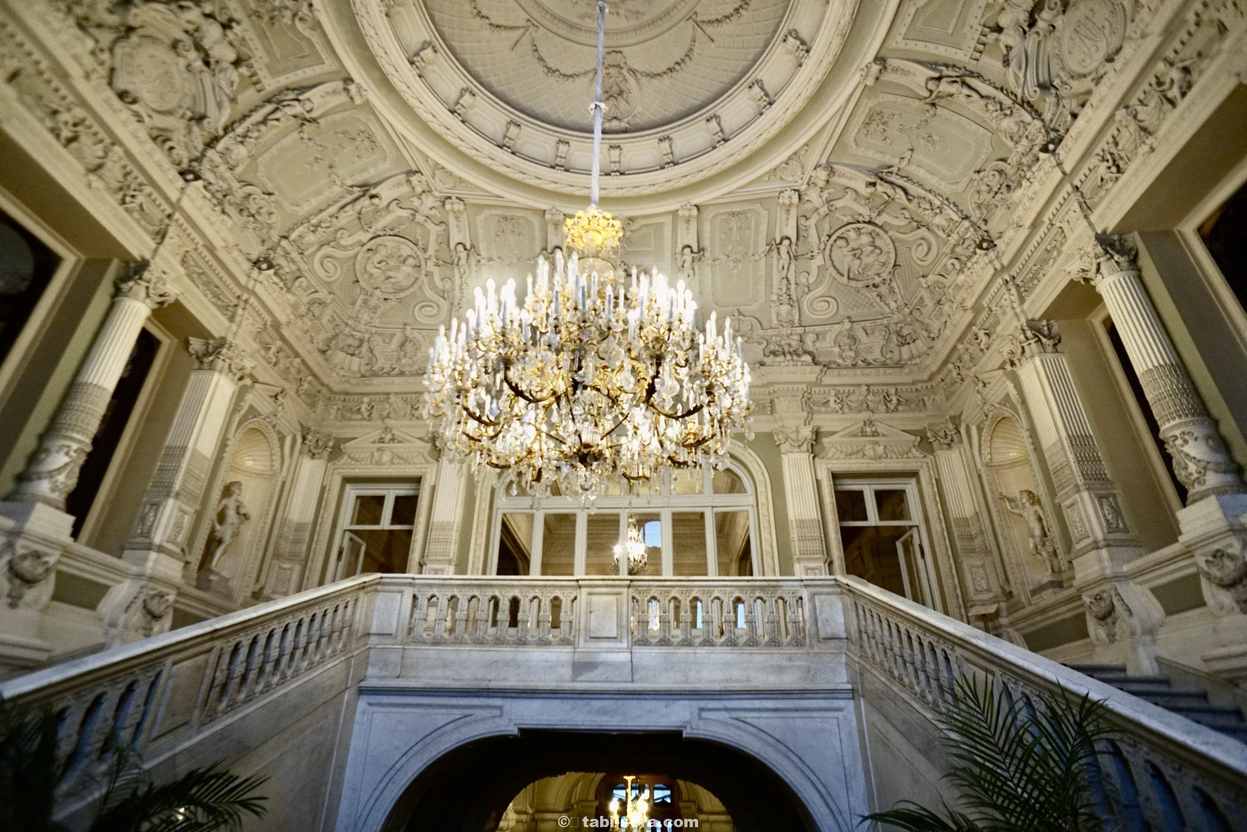 ユスポフ宮殿の階段