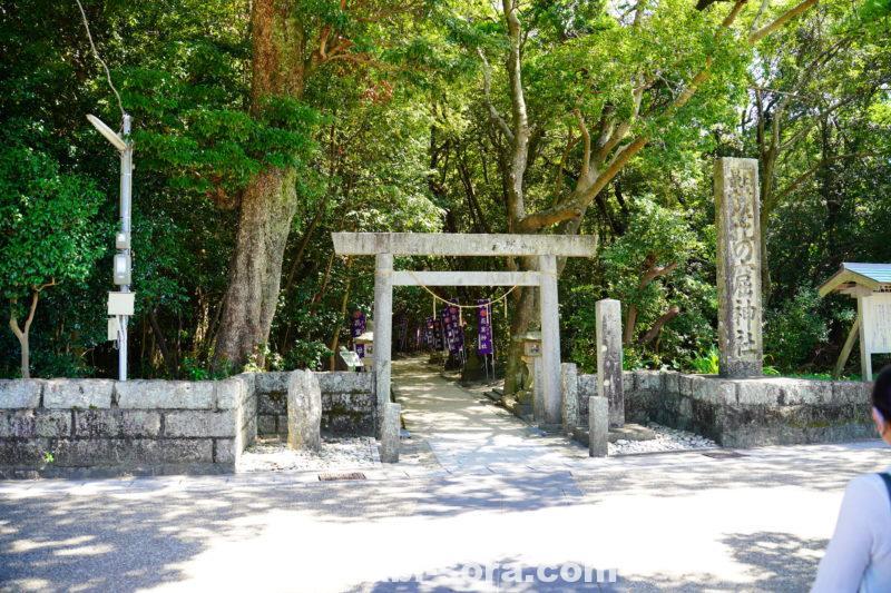 花の窟神社入口