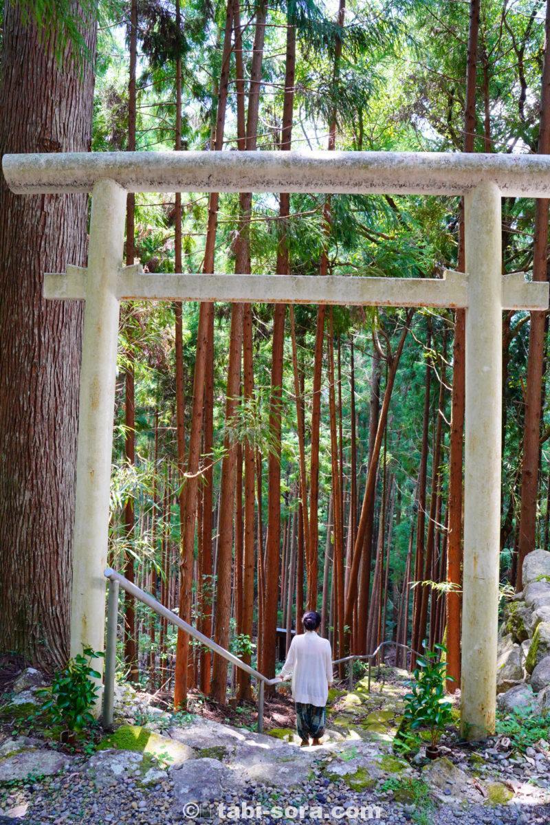 丹倉神社入口