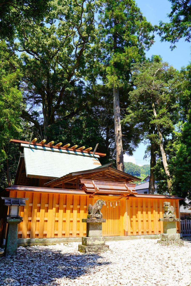 産田神社社殿