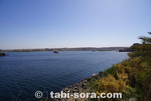 ナイル川の景色