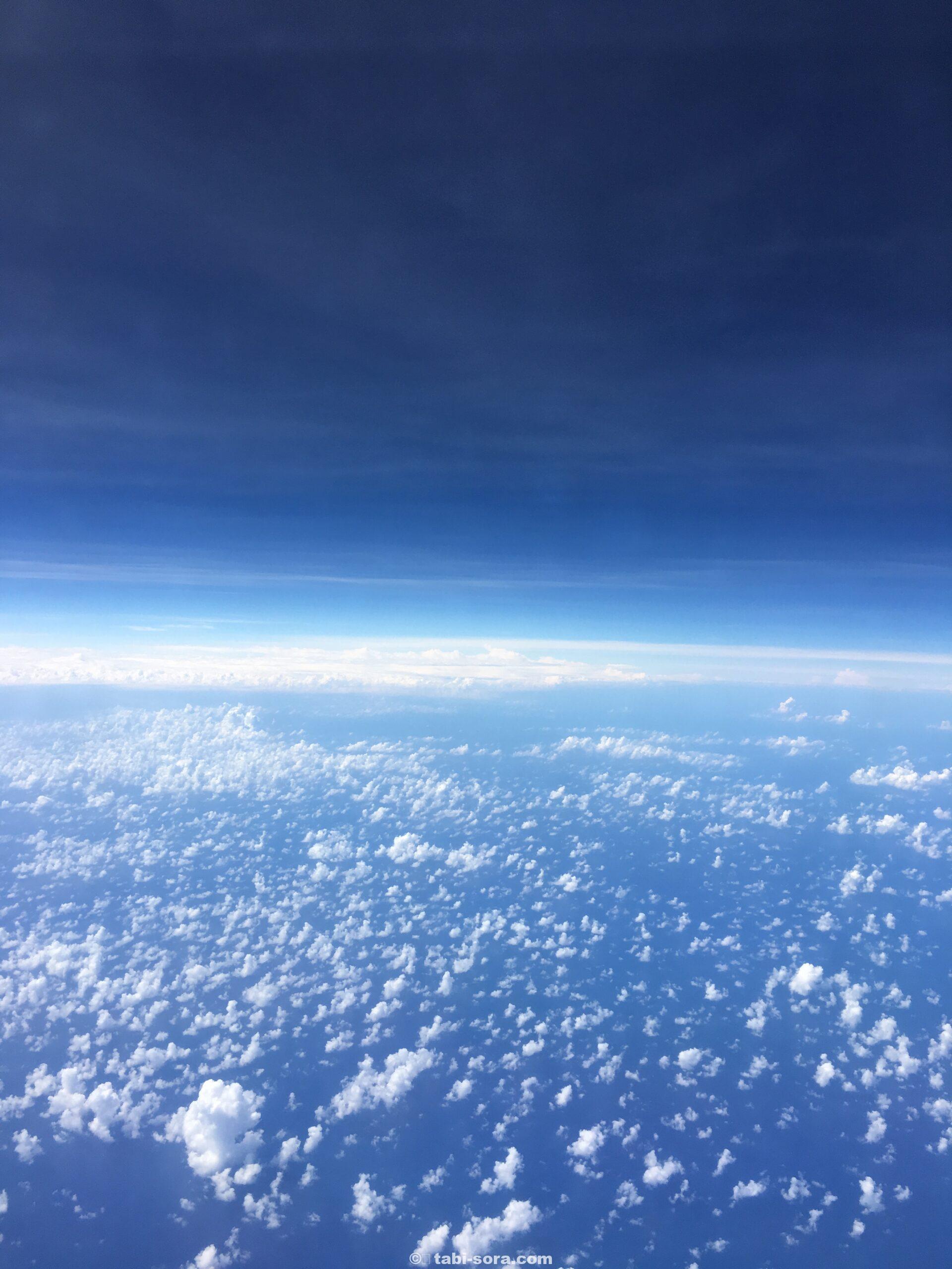 インド洋の空