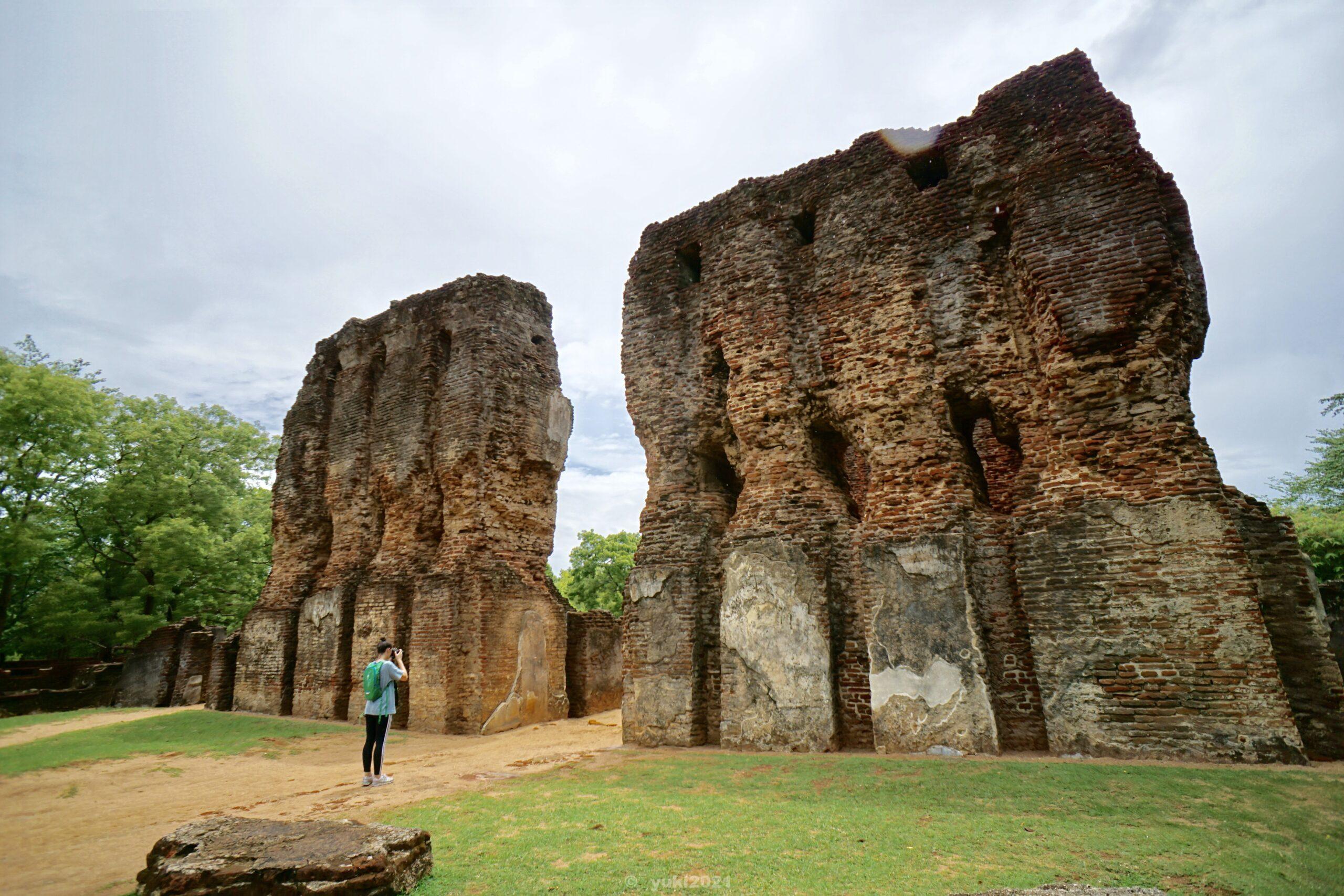 ウェジャヤンタパーサーダ宮殿跡